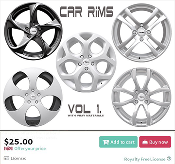 Car Rims - VOL 1